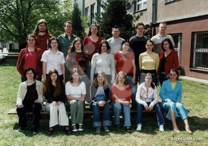 Absolventská fotografie 4. ročníku
