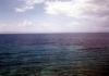 Pohled na širé moře z výletní lodi