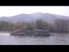 Loď plující po Dunaji