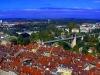 Bern (výhled z Münsteru)