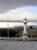Maják na Ženevském jezeře